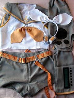 鏡音リンコスプレ衣装