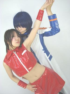KAITOとMEIKOのコスプレ衣装その2