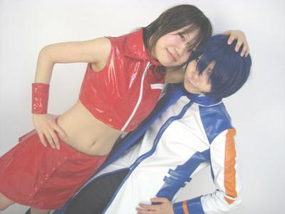 'KAITOとMEIKOのコスプレ衣装その3