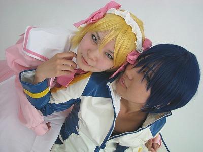 メイドさんとエロKAITOさん