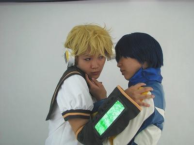 レンとエロ絡みするKAITOさん1